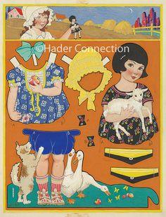 berta & Elmer hader paper dolls - Google-søk