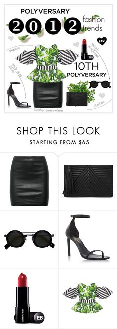 """""""Celebrate Our 10th Polyversary!"""" by mars ❤ liked on Polyvore featuring The Row, HButler, Yohji Yamamoto, Yves Saint Laurent, Caroline Constas, Sagaform, polyversary and contestentry"""