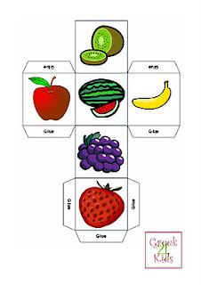 It& all about fruit in today& flashcards. You can find the Fruit Flashcards on our shop! Naming the fruit in Greek is going. Abc Activities, Creative Activities, Preschool Worksheets, Kindergarten Activities, Preschool Body Theme, Preschool Classroom, Teaching Kids, Kids Learning, Story Cubes