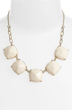 Facet Statement Necklace