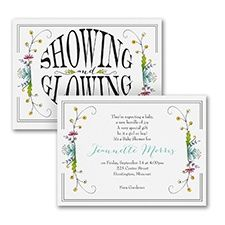 Pregnancy Announcements Wordings Samples for New Baby - InvitationsByU