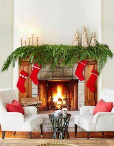 Karácsonyi dekor ötletek | Fotó: goodhousekeeping.com