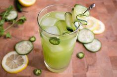 Spicy Cucumber Cocktail - Recipe