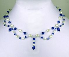 Free pattern for necklace Tori Click on link to get pattern - http://beadsmagic.com/?p=5194 #cbloggers #diy #lbloggers