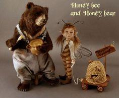 Honey Bee & Honey Bear