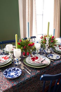 Setting the table with Marigold Living - STACIE FLINNER