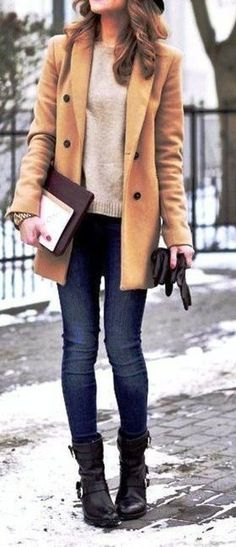 Fashionable Winter Outfit Ideas 2017 You Should Try 42