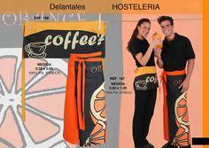 Originales delantales para hostelería. ¡Encuentra todo lo que te hace falta! #uniformesdehosteleria http://www.kyoimagentextil.com/catalogo/b/uniformes.pdf