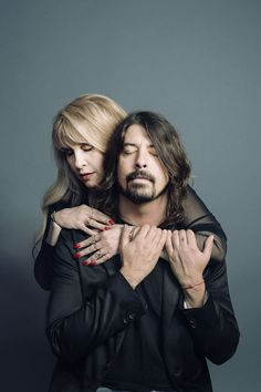"""Dave Grohl & Stevie Nicks Stevie isn't exactly """"Man Candy"""", but I do have an unhealthy love for her."""
