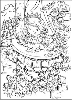 welcome to dover publications free sample join fb grown up coloring group - Pretty Pictures To Color