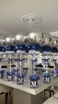 9 ideas for party ideas diy decorations new years event 2 « Kitchen Design Baby Shower Balloon Decorations, Balloon Centerpieces, Boy Baby Shower Themes, Baby Shower Balloons, Baby Boy Shower, Christening Table Decorations, Room Decorations, Diy Party Centerpieces, Baby Shower Ideas For Boys Centerpieces