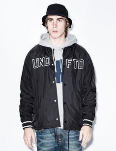 Black War Coaches Jacket