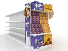 Point of Sale, Milka+Toblerone Christmas, Kraft Foods Kraft Foods, Kraft Recipes, Point Of Sale, Point Of Purchase, Pos Display, Display Design, Product Display, Pos Design, Retail Design
