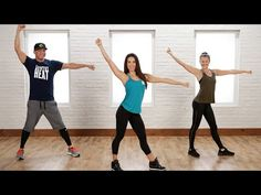 20-Minute Calorie-Torching Country Dance Workout   Class FitSugar - YouTube