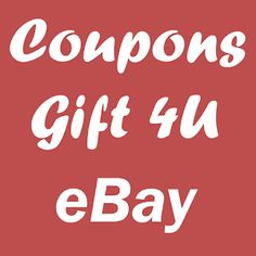 Free #Coupons for #eBay + Best #Deals & #PromoCodes - #Android #App by #CouponsGift4U
