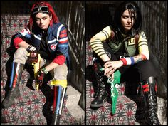 I have a slight obsession with these killjoys cosplays