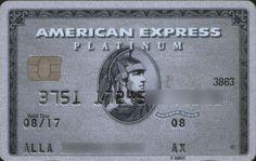 American Express  Platinum |  Russian Standard Bank |  Col:RU-AE-0014