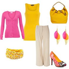 Work Attire, created by christen426 on Polyvore