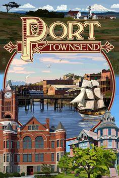 Port Townsend, Washington -
