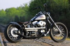 New build old-school style Softail bobber from Southeast Custom Cycles in Concord, NC.