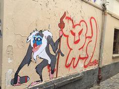 """Graffiki"" in Paris by Combo Culture Kidnapper"