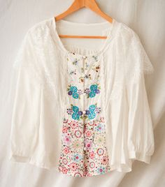 Rakuten: Blouse of the rale race that put on a forest girl embroidery stall in blouse spring- Shopping Japanese products from Japan