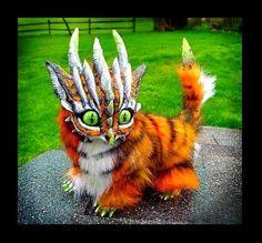 -SOLD-Posable Tiger Dragon by Wood-Splitter-Lee.deviantart.com on @deviantART