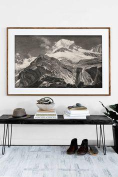 black and white minimalist entryway ideas