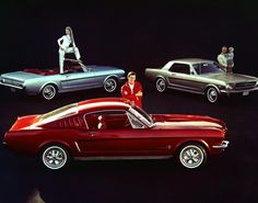 1965 Ford Mustangs - Photos - Ford Mustang: America's popular pony car through the years Ford Mustangs, Ford Mustang Shelby, Ford Mustang Models, Mustang Cars, Pony Car, Automobile, Rockabilly Cars, Classic Mustang, Autos