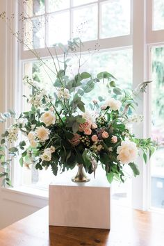 Statement Arrangement by Celsia Floral  Christine Pienaar Photography