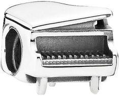 Pandora Silver Piano Charm