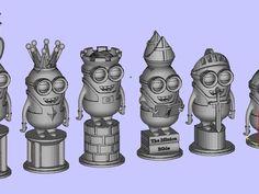 minion chess set - Thingiverse