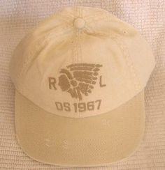 39 nwt mens denim   supply by polo ralph lauren indian chief baseball hat  cap 722625d128c2