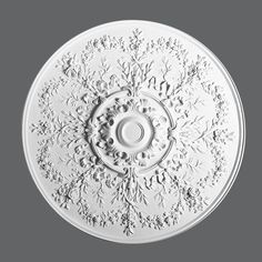 Why Ceiling Medallions R-64 Are The Best Choice For Decorating Interiors ___________________________ Request Your FREE Catalog: http://form.outwater.com/oracusa.php