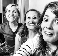 Last Night was the premiere of The Grace Helbig Show on E! #graceshow  Grace Helbig  Mamrie Hart  Hannah Hart Holy Trinity YouTubers  #teaminternet
