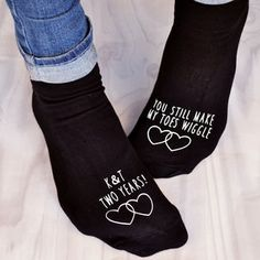 2nd Wedding Anniversary Gifts Cotton For Her : Personalised Socks- I belong to Tayla.jpg (1944 2592) Personalised ...
