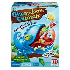 Amazon.com: Chameleon Crunch Game: Toys & Games