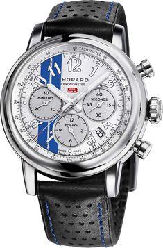 41aa9cd0a02 La Cote des Montres   La montre Chopard Mille Miglia Classic Chronograph  Racing Stripes Edition -