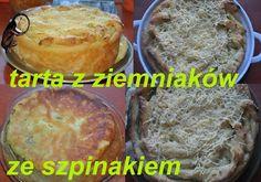 w mojej kuchni: ...zielona tarta ziemniaczana