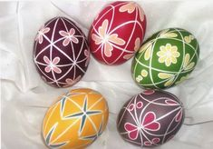 Handcraft Blog: Easter eggs