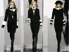 Love these Chanel Suits