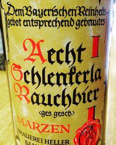 Aecht Schlenkerla Rauchbier. Servus #bier #beer #cerveza #artesana #foodie #food @condeduquegente  #malasaña #condeduque #madrid #bar #barrio #follow #bayern #franken #bamberg #alemania #deutschland #leiner by barleinermadrid