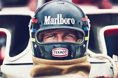 70's F1 poster boy James Hunt