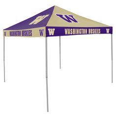 NCAA Washington Huskies Chckrbrd Tent