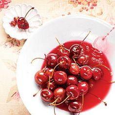Fantastic Cherry Recipes: Bourbon Candied Cherries | CookingLight.com