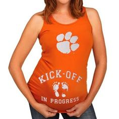 Must remember this tee when My son and daughter-in-law decide to have a baby!! both are Clemson grads!! Love Clemson baby ideas
