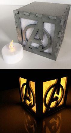 Avengers Light Box