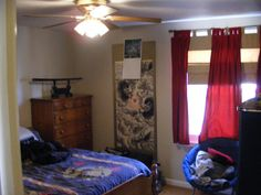 Another of the bedrooms at 658 Southwood.