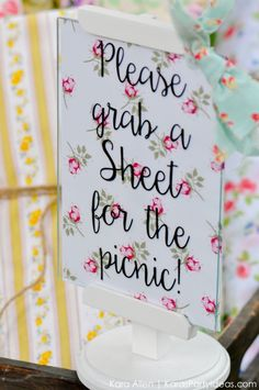 Picnic in the Park by Kara Allen | Kara's Party Ideas in NYC_-107
