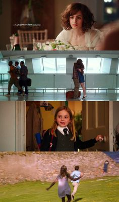 Love, Rosie (2014) based on Cecelia Ahern's book, Where Rainbows End; starring Lilly Collins and Sam Claflin